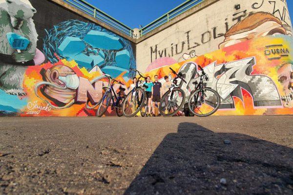 Ekskursija po Kauną dviračiais - Gerve.lt